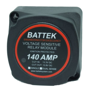 BATTEK Voltage Sensitive Relay 12V 140A Single Sense (Smart Battery Isolator)