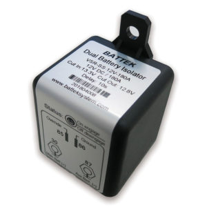 BATTEK Dual Battery Isolator 12V 180A Single Sense