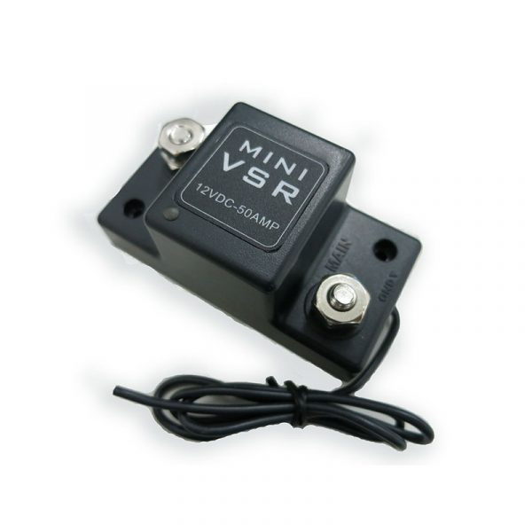 Voltage Sensitive Relay Dual Sense 12V 50A